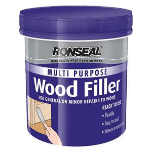 Ronseal Multi purpose Dark Ready mixed Wood Filler 250g