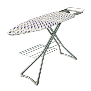 Image of Minky Silver effect Ironing board