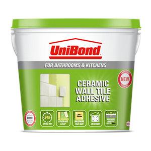UniBond Ready mixed Beige Tile Adhesive  7.4kg