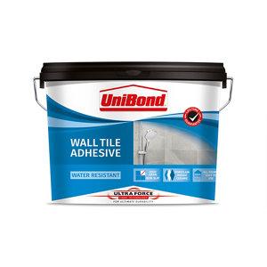 UniBond UltraForce Ready mixed Beige Tile Adhesive  13.8kg