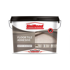 UniBond UltraForce Ready mixed Beige Floor Tile Adhesive  14.3kg