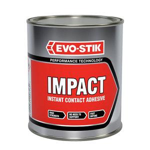 Image of Evo-Stik Impact Amber Glue 750L