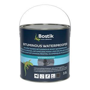 Image of Bostik Black Roofing waterproofer 2.5L