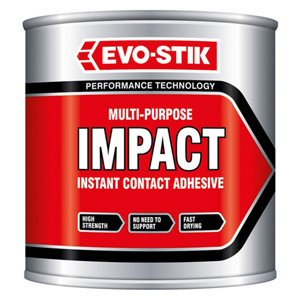 Image of Evo-Stik Impact Solvent-based Contact adhesive 250ml
