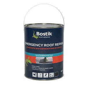 Image of Bostik 5kg Black Roofing waterproofer Tin