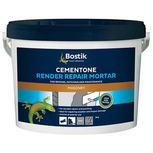 Bostik Cementone Rendering Repair mortar  5kg Tub