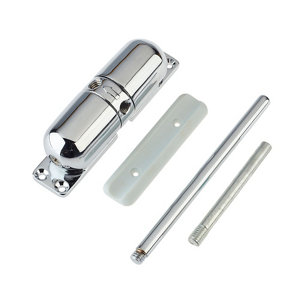 Yale Silver effect Surface-mounted Door closer