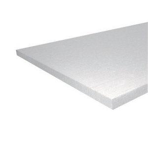 Image of Jablite Polystyrene Insulation board (L)2.4m (W)1.2m (T)25mm