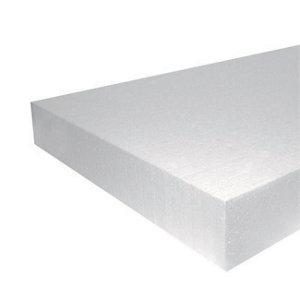 Image of Jablite Polystyrene Insulation board (L)2.4m (W)1.2m (T)100mm