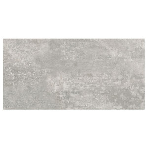 Image of Urban Grey Matt Ceramic Wall & floor tile Pack of 5 (L)600mm (W)300mm