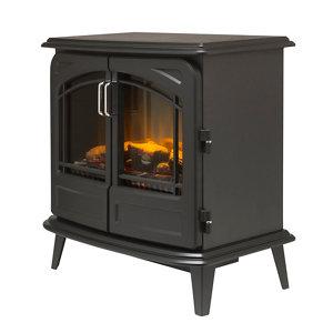 Image of Dimplex Cassia Noir Optiflame Black Electric Stove