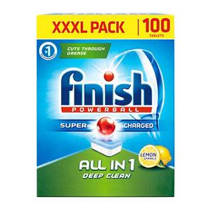 Image of Finish All in 1 Lemon Dishwasher tablets 1990g