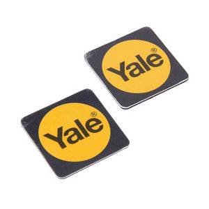 Image of Yale P-YD-01-CON-RFIDPB Intruder alarm tag Pack of 2