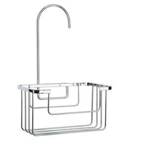 Image of Croydex Chrome effect Mild steel Shower caddie
