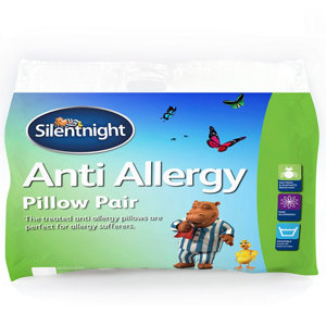 Image of Silentnight Anti-allergy Pillow Pack of 2