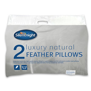 Image of Silentnight Pillow Pack of 2