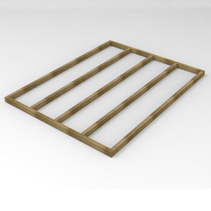 Image of Forest Garden 8x6 Timber Shed base