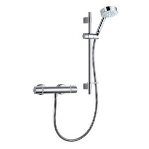 Image of Mira Atom EV 4-spray pattern Chrome effect Thermostat temperature control Shower