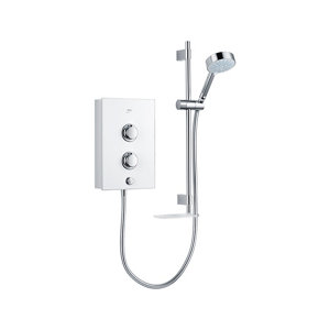 Image of Mira Decor White Electric Shower 9.5kW