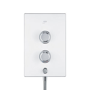 Image of Mira Decor Dual White Electric Shower 10.8kW
