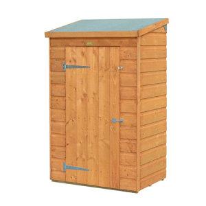 Rowlinson Shiplap Wooden 3x2 Pent Garden storage