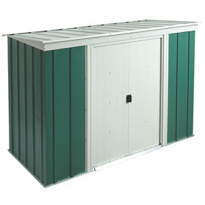 Image of Arrow Greenvale 6x4 Pent Metal Shed