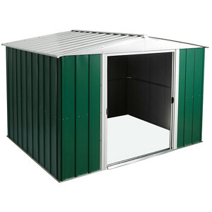 Image of Arrow Greenvale 10x8 Apex Metal Shed