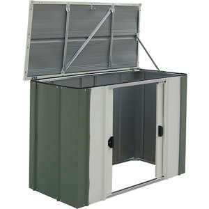 Image of Arrow Greenvale 4x2 Pent Metal Shed