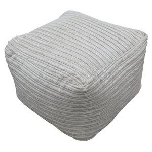 Primeur Metropolis Plain Bean bag cube Stone