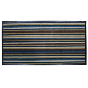 Image of Colours Blue & brown Door mat