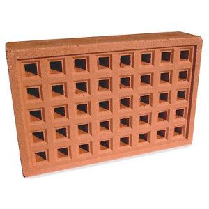 Expamet Red Air brick (L)215mm (W)50mm (H)140mm  Pack of 2