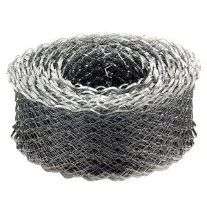 Image of Expamet Galvanised Galvanised steel Coil lath (L)20m (W)65mm