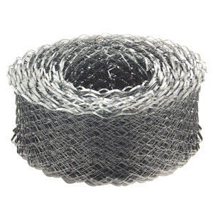 Image of Expamet Galvanised Galvanised steel Coil lath (L)20m (W)115mm