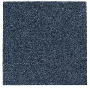 Image of Colours Cornflower Carpet tile (L)50cm