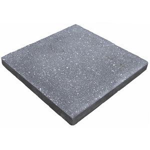 Panache ground Midnight grey Paving slab (L)450mm (W)450mm Pack of 40