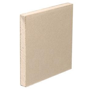 Gyproc Standard Square edge Plasterboard  (L)2.4m (W)1.2m (T)12.5mm