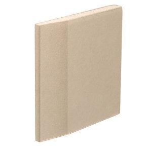 Gyproc Standard Tapered edge Plasterboard  (L)2.4m (W)1.2m (T)9.5mm