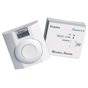 Image of Drayton Thermostat White