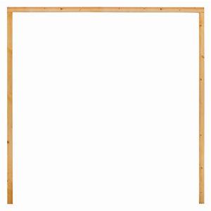 Image of External Timber Garage door frame (H)2205mm (W)2271mm