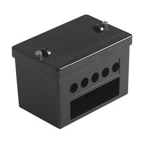 Image of MK Black 100A 5 way Junction box 60mm