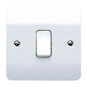 Image of MK 10A 2 way White Single Intermediate switch