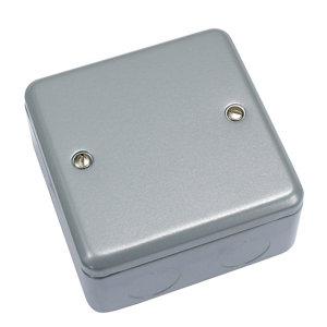 Image of MK Grey Junction box 86mm