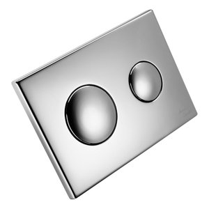 Image of Armitage Shanks Dual-flush Wall-mounted Flushing plate (H)155mm (W)300mm