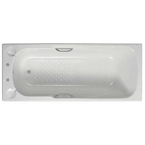 Image of Armitage Shanks Sandringham Acrylic Rectangular Straight Bath (L)1685mm (W)695mm