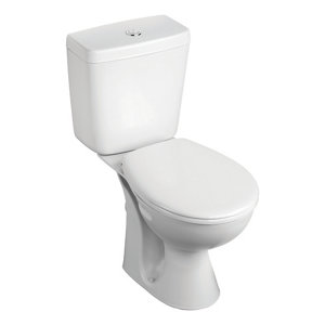 Image of Armitage Shanks Sandringham 21 Close-coupled Toilet with Standard close seat