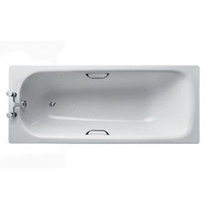 Image of Armitage Shanks Simplicity Porcelain enamelled steel Rectangular Bath (L)1700mm (W)700mm