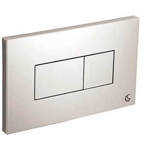 Image of Ideal Standard Dual-flush Wall-mounted Flushing plate (H)146mm (W)230mm