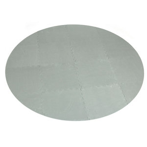 Image of CleverSpa Grey Floor protector (Dia)1.96m