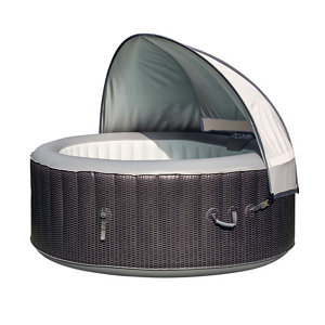Image of CleverSpa Grey Plastic Dome