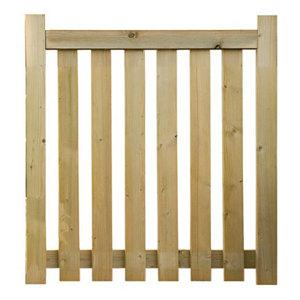 Image of Grange Timber Gate (H)0.9m (W)0.9m
